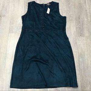 Kate & Mallory Torrid Tie Corset Sleeveless Dress